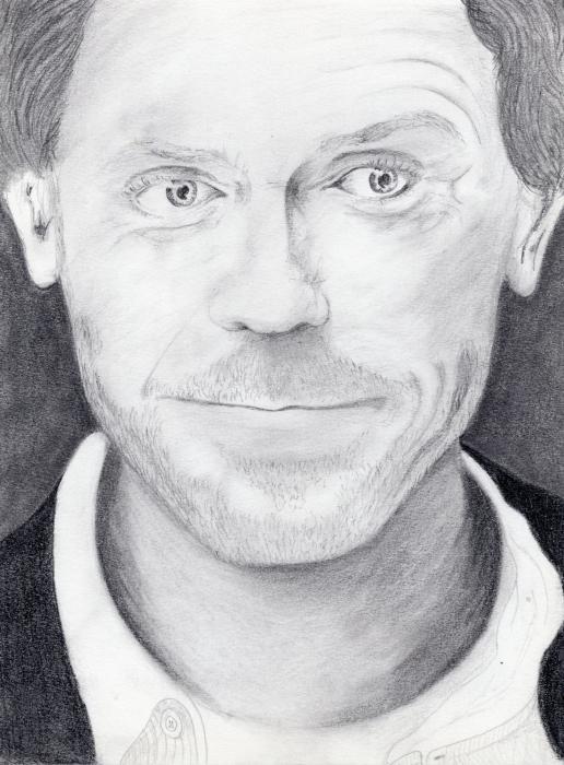 Hugh Laurie by Ynnej59